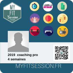 coaching pro 4 semaines