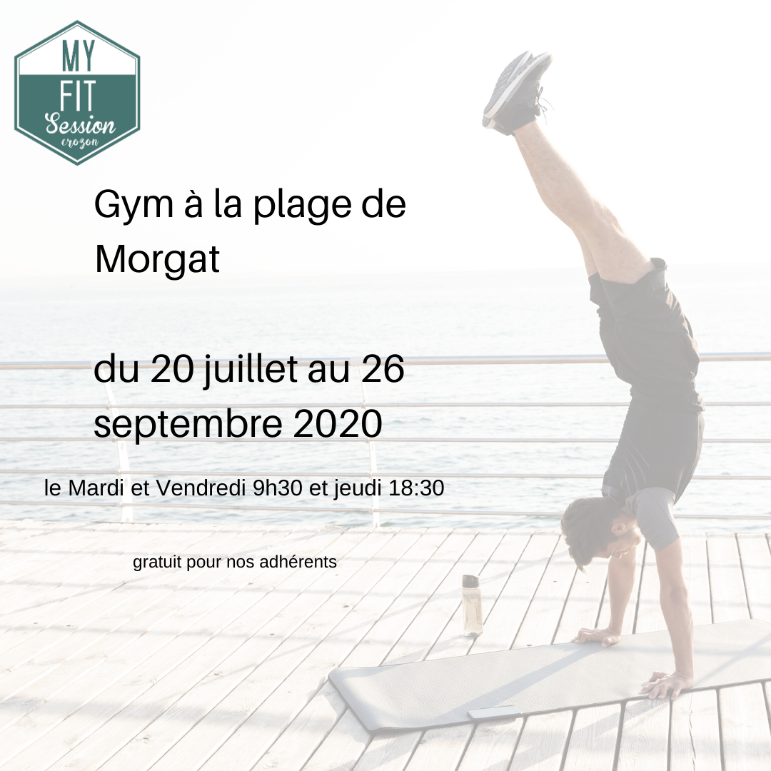 gym plage de morgat